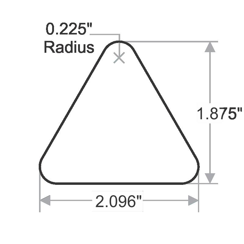 triangle pinch point  entanglement symbol label  sku  lb