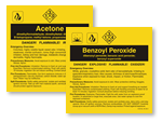 A-B Chemical Labels