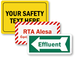 Blank Safety Labels