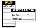 Service Record Labels
