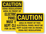 Electrical Caution