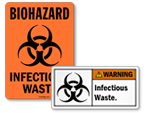 Infectious Waste Stickers