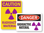 Radioactive Material Signs
