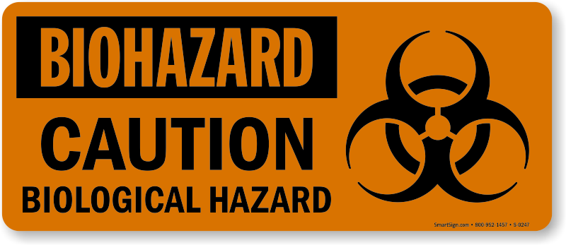 biohazard caution signs biohazard signs sku s 0247