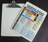 NFPA Clipboard with Metal Spring Clip