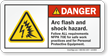 Danger Safety Label
