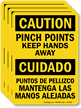 Bilingual OSHA Caution Label