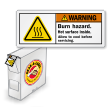 Grab-a-Labels in Dispenser Box Warning Safety Labels