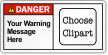 Personalized ANSI Danger Label