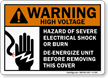 Warning (ANSI) Sign