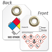 Double-Sided GHS and NFPA Tag (Write-On)