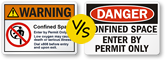 OSHA vs. ANSI Safety Labels